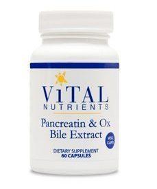 PANCREATIN & OX BILE EXTRACT 60 VCAPS (PAN58) - NutrimentRx