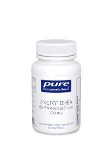 7-KETO DHEA 100 MG 120 VCAPS (7KET5) - NutrimentRx