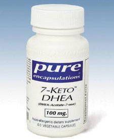 7-KETO DHEA 100 MG 60 VCAPS (7KET6) - NutrimentRx