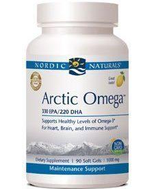 Arctic Omega - Lemon 1000 mg 90 gels (ARCT5)