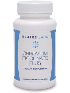 CHROMIUM PICOLINATE PLUS 100 VEGCAP (CHR41)