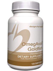 OmegAvail Goldfish 120 softgels (D04146)