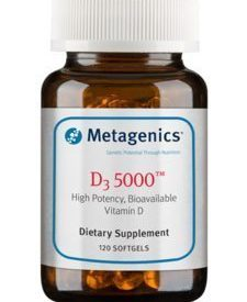 D3 5000 IU 120 softgels (D5000)