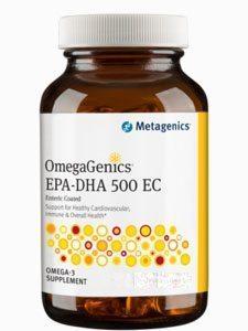 OmegaGenics™ EPA-DHA 500 Enteric 120gels (EPA41)