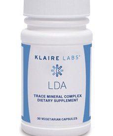 LDA Trace Mineral Complex 30 vegcap (EPDT2)