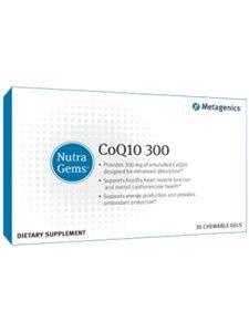 NutraGems™ CoQ10 300 30 Chewable Gels (M30637)