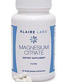 Magnesium Citrate 150 mg 90 vegcap (MAG72)