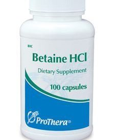 BETAINE HCL 100 CAPS (P01213)