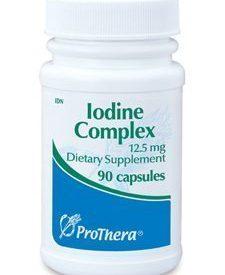 IODINE COMPLEX 12.5 MG 90 CAPS (P01244)