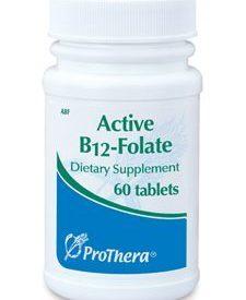 ACTIVE B12-FOLATE 60 TABS (P01329)