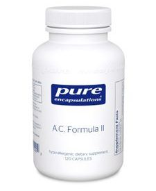 A.C. Formula II 120 vcaps (P14012)