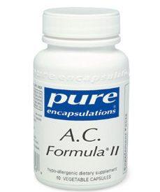 A.C. FORMULA II 60 VCAPS (P14029)