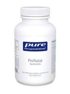 PreNatal Nutrients 120 vcaps (PRE22)