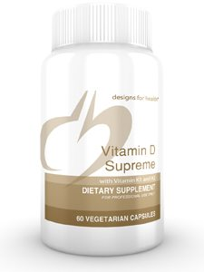 Vitamin D Supreme w Vit K1, K2 60 vcaps (VIDS6)