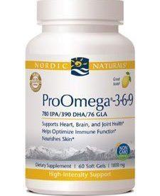 ProOmega 3.6.9 1000 mg 60 softgels (W21272)