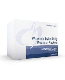 Women's Twice Daily EP™w/out Iron 60pkts (WOM47)
